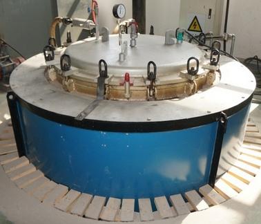 Печь для термической обработки заготовок мембран