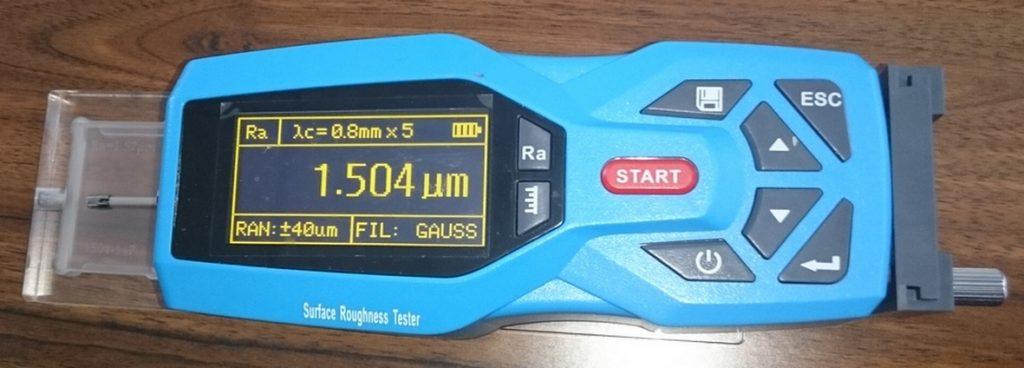 Прибор для контроля шероховатости поверхности мембран